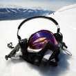 Snowboard mask — Stock Photo #7357339