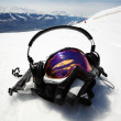 Snowboard mask - Stock Photo