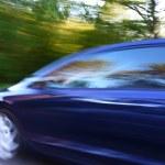 Speed car — Stock Photo
