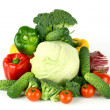 Big vegetarian pile — Stock Photo #7472827