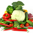 Big vegetarian pile — Stock Photo #7472831