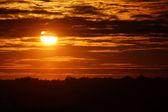 City sunrise — Stock Photo
