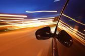 Night drive — Стоковое фото