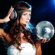 Disco girl — Stock Photo #7518488