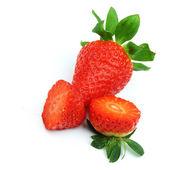 Strawberry pile — Stock Photo
