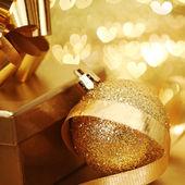 Navidad dorada — Foto de Stock
