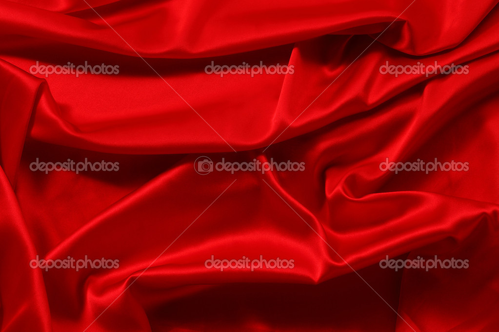Red satin background close up — Stock Photo #7534917