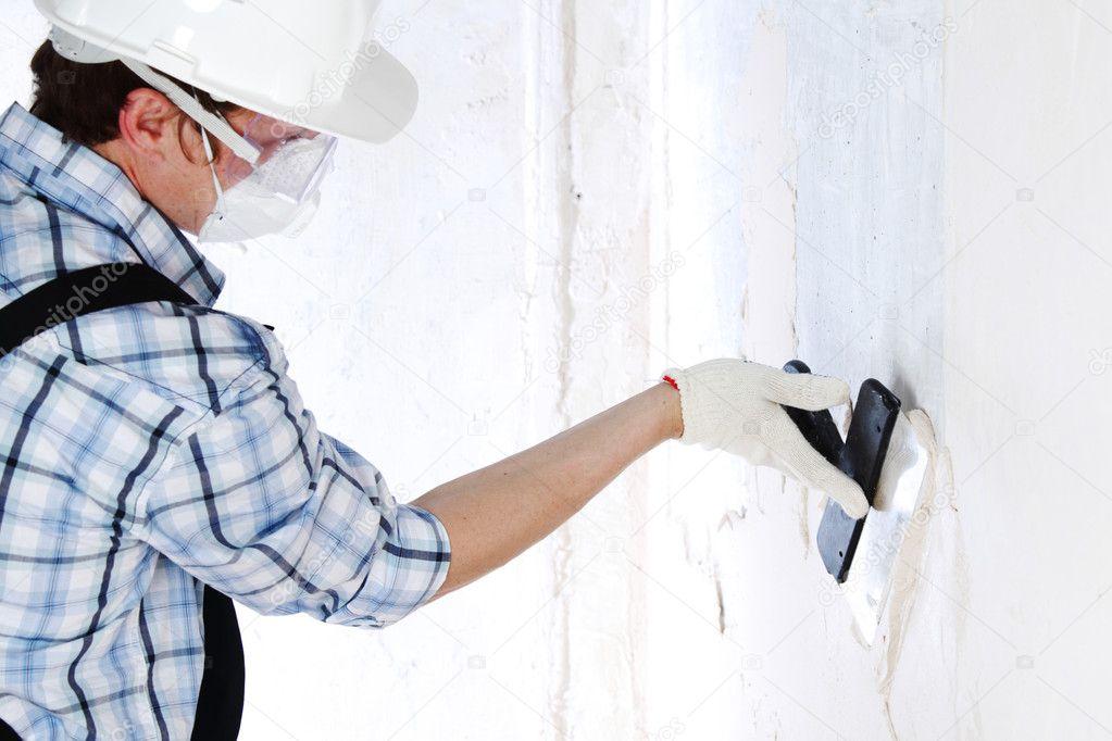 Выровнять стены своими руками шпаклевкой