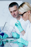 Chemical lab — Stock Photo