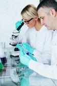 Científico de la química — Foto de Stock