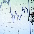 Foto de Stock  : Financial graph