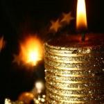 Magic candle — Stock Photo