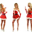 Santa girl — Stock Photo #7684750