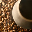 Grains of coffee - Stock Photo