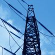 Transmission power line — Stock Photo