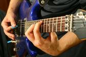 Guitar solo — Stock Photo