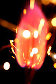 Holiday flame — Stock Photo