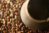 Grains of coffee — Stock Photo