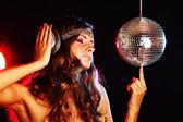 Disco girl — Zdjęcie stockowe