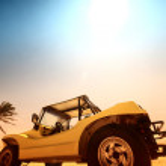 Desert buggy — Stock Photo