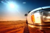 Desert truck — Stock Photo