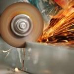 Metal sawing — Stock Photo #7907790