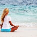 Yoga woman — Stock Photo #7941911