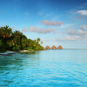 Maldives landscape — Stock Photo