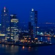 Rotterdam night aerial view — Stock Photo #7351296