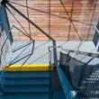 Metal ladder with mesh sides — Stockfoto #7815100