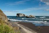 Pacific coast (Kamchatka Peninsula) — Stock Photo