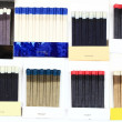 Group of Matchbooks. — Stock Photo
