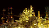 Factory at night — Foto de Stock