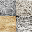 Bricks and blocks - textures — Stock Photo #7321890