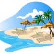 The Tropics - Stock Vector