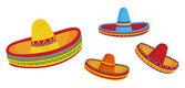 Sombreros — Stock Vector