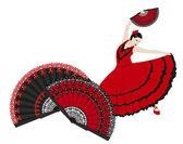Flamenco — Stock Vector