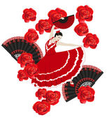 Flamenco — Stock Vector
