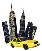 New York City — Stock Vector