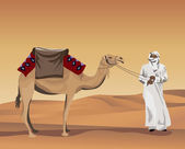 Bedouin — Vector de stock