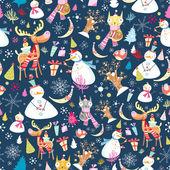 Christmas texture — Stock Vector