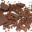 Grated chocolate — Stock Photo
