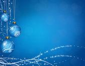 Christmas ball gruß — Stockfoto