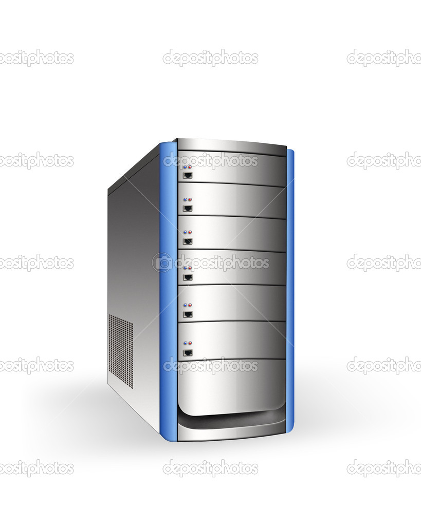 Server tower — Stock Photo #6806749