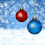 рождественская открытка — Стоковое фото #7527816