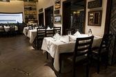 Interior moderno restaurante — Foto Stock