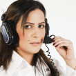Royalty-Free Stock Photo: Customer services operator