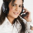 Customer services operator — Stock Photo #7461265