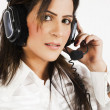 Customer services operator — Stock Photo