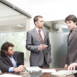 Businessmen in meeting — Stock Photo #7468007